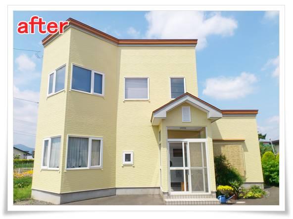 外壁塗装、屋根塗装施工事例 I様邸