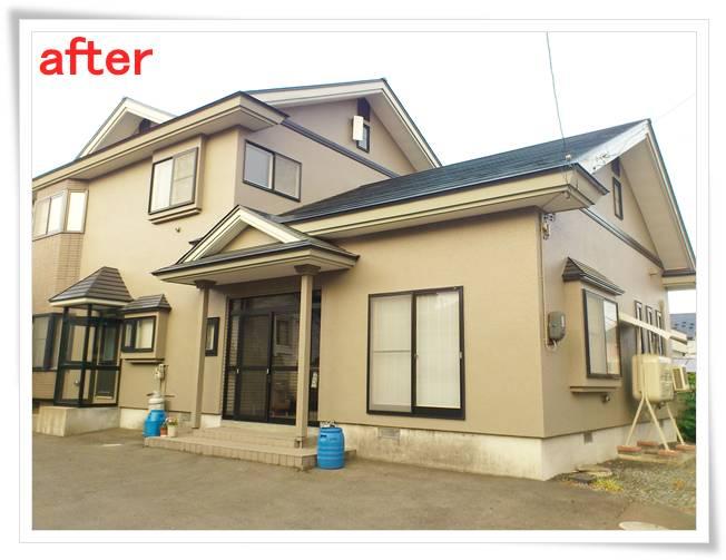 外壁塗装、屋根塗装施工事例 M様邸