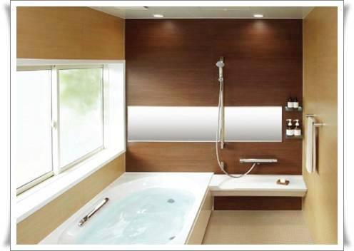 長尾建築塗装のお風呂リフォーム