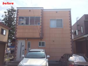 弘前屋根外壁塗装施工事例