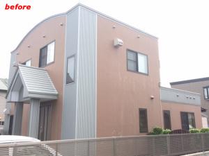 弘前市外壁屋根塗装施工例