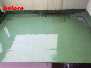 厚膜防水工事
