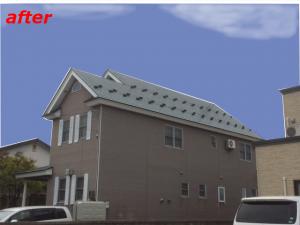 屋根塗装 施工事例完成