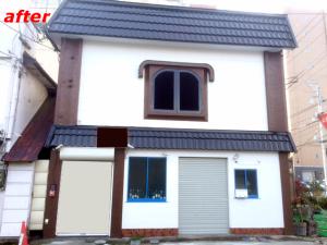 屋根、外壁塗り替え施工事例完成