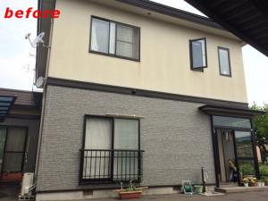 屋根、外壁塗り替え施工事例施工前
