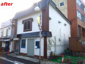屋根、外壁塗り替え施工事例1完成
